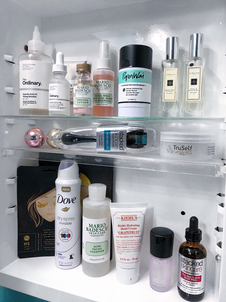 My beauty cabinet
